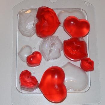 Сердечки-поцелуйчики
