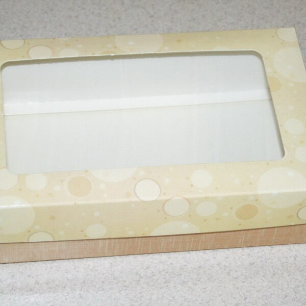 Коробочка двухкомпонентная (дно+крышка) 1524