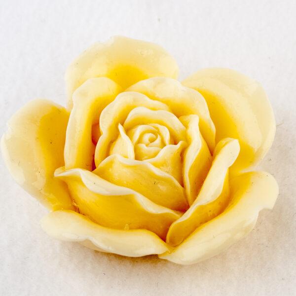 Роза свадебная 3D