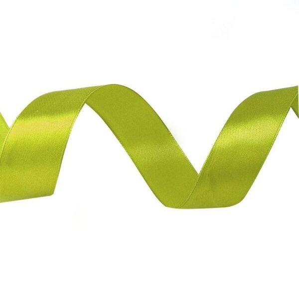 Лента атласная 1,2 см свежая зелень