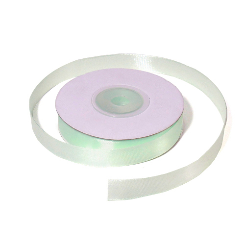 Лента атласная 1,2 см нежно-зеленая
