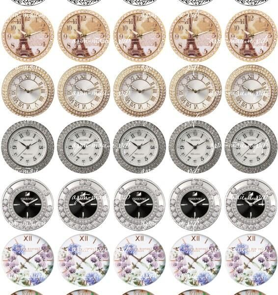 Циферблат на женские часы